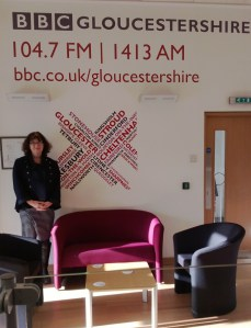 Debbie in BBC Radio Gloucestershire reception