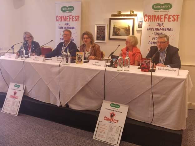 photo of Crimefest panel