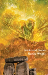 cover of Sticks and Stones by Shirley Wright