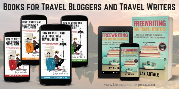 image of Jay Artale's travel books