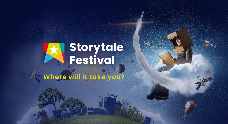 banner ad for Storytale Festival