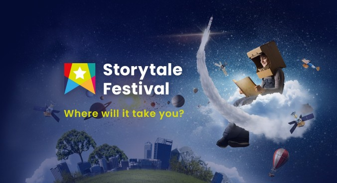 banner ad for Storytale Festival