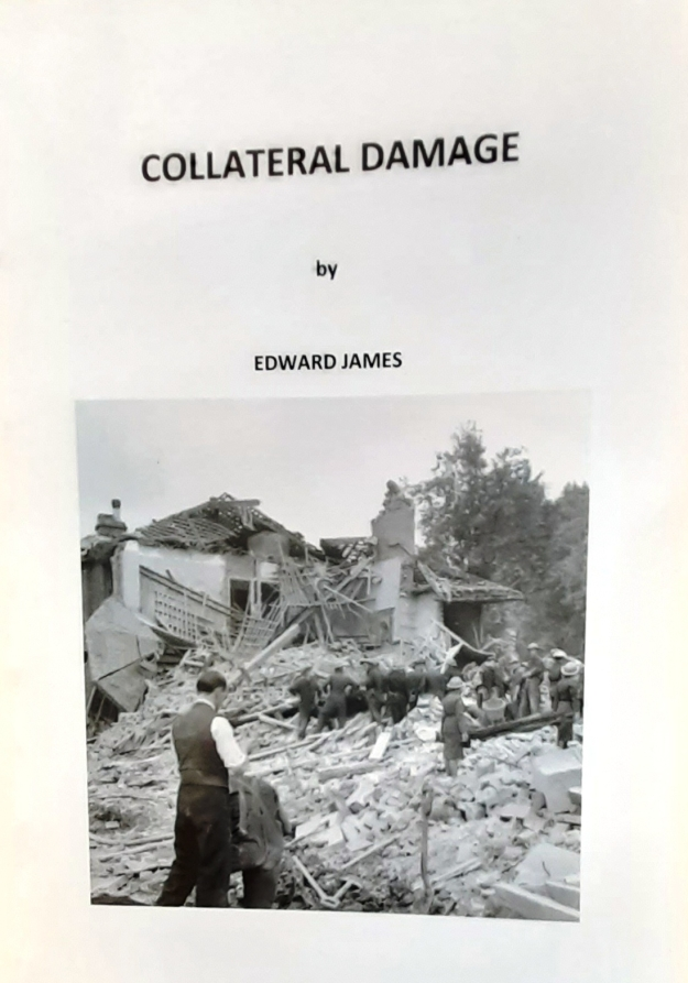 cover of Collateral Damage by Edward James